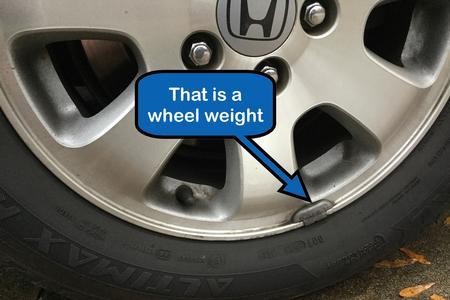 Wheel weight 1